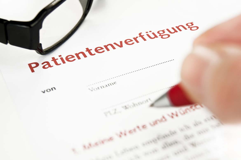 Patientenverfügung: Die eigenen Wünsche verbindlich festhalten